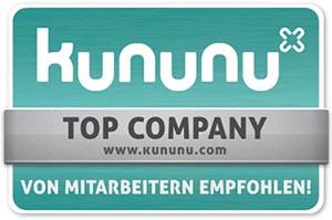 Auszeichnung Top Arbeitgeber Kununu