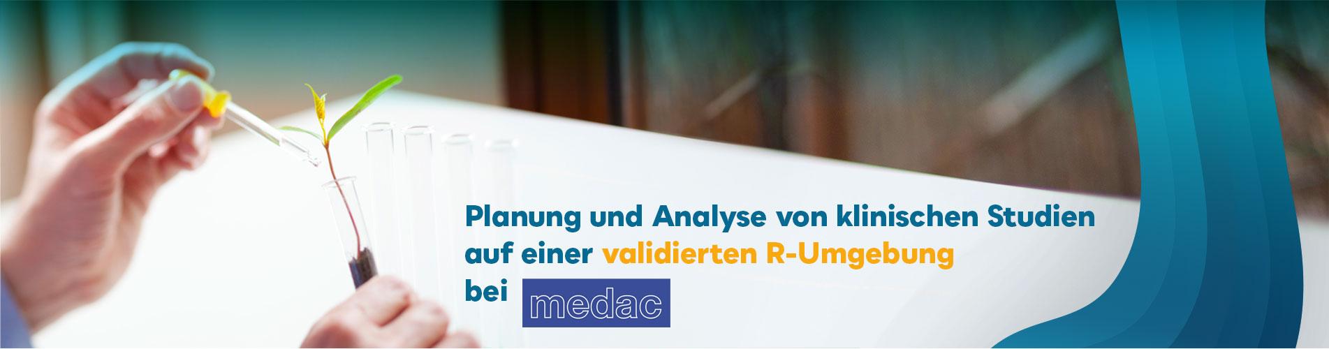 Analyse von klinischen Studien auf einer validierten R-Umgebung bei medac